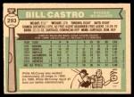 1976 O-Pee-Chee #293  Bill Castro  Back Thumbnail