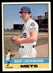 1976 O-Pee-Chee #166  Skip Lockwood  Front Thumbnail