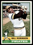 1976 O-Pee-Chee #137  Bill Robinson  Front Thumbnail