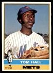 1976 O-Pee-Chee #621  Tom Hall  Front Thumbnail