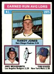 1976 O-Pee-Chee #201   -  Randy Jones / Andy Messersmith / Tom Seaver NL ERA Leaders   Front Thumbnail