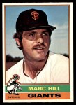 1976 O-Pee-Chee #577  Marc Hill  Front Thumbnail