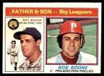 1976 O-Pee-Chee #67  Ray Boone / Bob Boone  Front Thumbnail