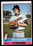 1976 O-Pee-Chee #11  Jim Hughes  Front Thumbnail