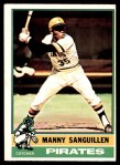 1976 O-Pee-Chee #220  Manny Sanguillen  Front Thumbnail