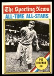1976 O-Pee-Chee #343   -  Pie Traynor All-Time All-Stars Front Thumbnail