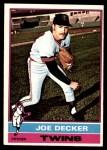 1976 O-Pee-Chee #636  Joe Decker  Front Thumbnail