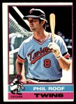 1976 O-Pee-Chee #424  Phil Roof  Front Thumbnail