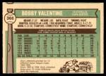 1976 O-Pee-Chee #366  Bobby Valentine  Back Thumbnail