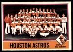 1976 O-Pee-Chee #147   -  Bill Virdon Astros Team Checklist Front Thumbnail