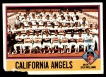 1976 O-Pee-Chee #304   -  Dick Williams Angels Team Checklist Front Thumbnail