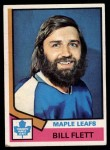 1974 Topps #64  Bill Flett  Front Thumbnail