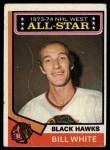 1974 Topps #136   -  Bill White All-Star Front Thumbnail