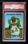 1967 Topps #565  Lew Krausse  Front Thumbnail