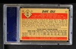 1953 Bowman B&W #38  Dave Cole  Back Thumbnail