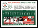 1994 Topps 1954 Archives #15  Al Rosen  Back Thumbnail