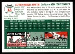 1954 Topps Archives #13  Billy Martin  Back Thumbnail
