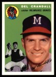 1954 Topps Archives #12  Del Crandall  Front Thumbnail