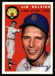 1954 Topps Archives #111  Jim Delsing  Front Thumbnail