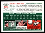 1954 Topps Archives #126  Ben Wade  Back Thumbnail