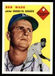 1954 Topps Archives #126  Ben Wade  Front Thumbnail