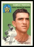 1954 Topps Archives #255  Camilo Pascual  Front Thumbnail