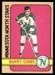 1972 Topps #169  Barry Gibbs  Front Thumbnail