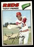 1977 Topps #655  Tony Perez  Front Thumbnail