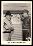1965 Fleer Gomer Pyle #38   Look Sergeant Guess Who Won? Front Thumbnail