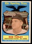 1959 Topps #570   -  Bob Turley All-Star Front Thumbnail