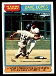 1976 Topps #4   -  Dave Lopes Record Breaker Front Thumbnail