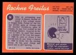 1970 Topps #96  Rockne Freitas  Back Thumbnail