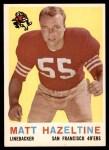 1959 Topps #72  Matt Hazeltine  Front Thumbnail