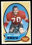 1970 Topps #186  Charlie Krueger  Front Thumbnail