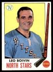 1969 Topps #122  Leo Boivin  Front Thumbnail