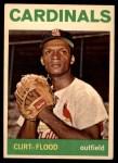 1964 Topps #103  Curt Flood  Front Thumbnail