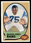 1970 Topps #125  Deacon  Jones  Front Thumbnail