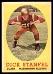 1958 Topps #39  Dick Stanfel  Front Thumbnail