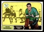 1968 Topps #45  Cesare Maniago  Front Thumbnail