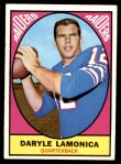 1967 Topps #103  Daryle Lamonica  Front Thumbnail