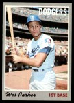 1970 Topps #5  Wes Parker  Front Thumbnail