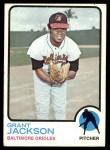1973 Topps #396  Grant Jackson  Front Thumbnail
