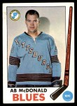 1969 Topps #18  Ab McDonald  Front Thumbnail