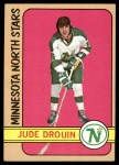 1972 Topps #153  Jude Drouin  Front Thumbnail