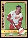 1972 Topps #141  Alex Delvecchio  Front Thumbnail