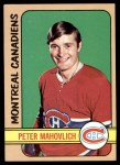 1972 Topps #42  Peter Mahovlich  Front Thumbnail