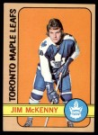 1972 Topps #54  Jim McKenny  Front Thumbnail