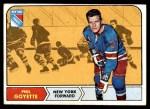 1968 Topps #73  Phil Goyette  Front Thumbnail