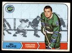 1968 Topps #86  Bill Hicke  Front Thumbnail