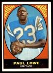 1967 Topps #121  Paul Lowe  Front Thumbnail